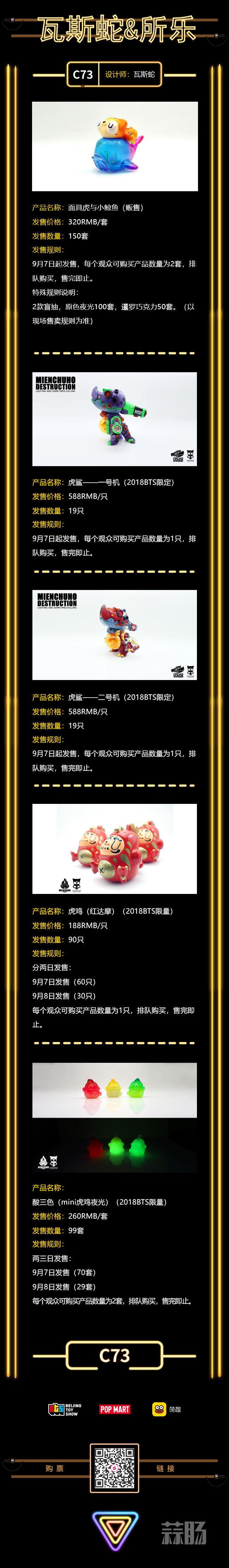 2018北京国际潮流玩具展第一波超人气限定品公开 漫展 第19张