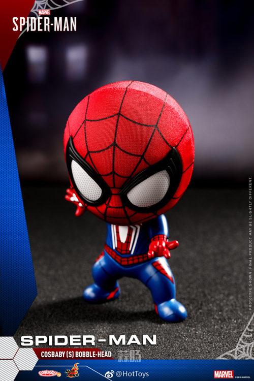 Hot Toys推出PlayStation4《漫威蜘蛛侠》COSBABY迷你珍藏人偶 模玩 第1张