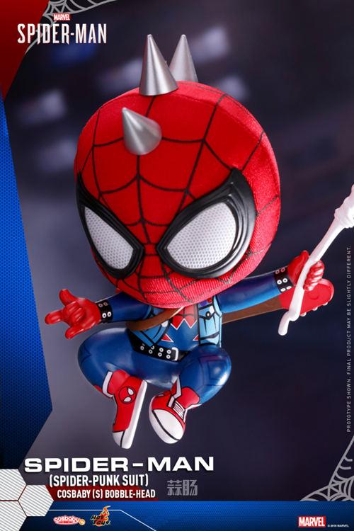 Hot Toys推出PlayStation4《漫威蜘蛛侠》COSBABY迷你珍藏人偶 模玩 第3张