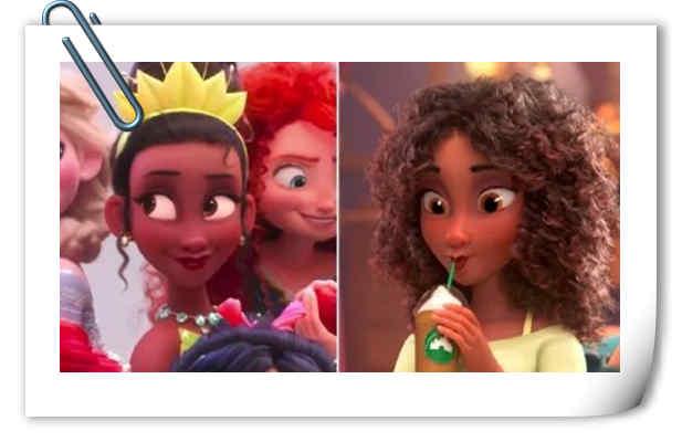 迪士尼决定重新制作《无敌破坏王2》蒂安娜公主形象