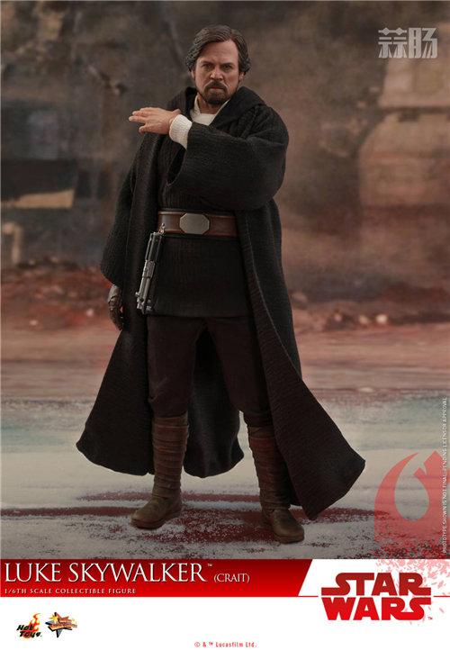 《星球大战:最后的绝地武士》卢克•天行者(克莱特版) 1:6比例珍藏人偶 模玩 第5张