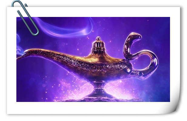 神灯本人发布迪士尼真人电影《阿拉丁》首张海报!配文:放我出去