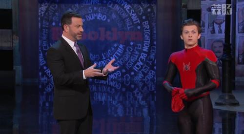 荷兰弟穿蜘蛛侠新战服上节目 剧透多了自己都害怕 动漫 第2张