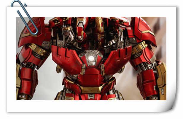 Hot Toys《复仇者联盟2:奥创纪元》反浩克装甲(豪华版) 1:6比例珍藏人偶升级回归