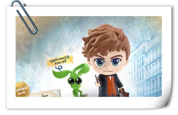 Hot Toys发布四套《神奇动物:格林德沃之罪》COSBABY迷你珍藏人偶套装