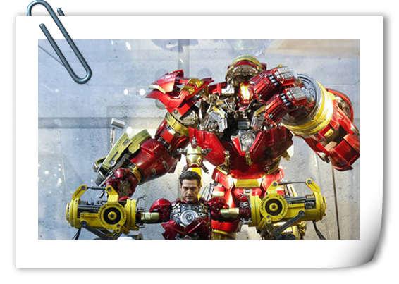 Hot Toys首度空降SHCC漫威超级英雄原大雕像霸气集结