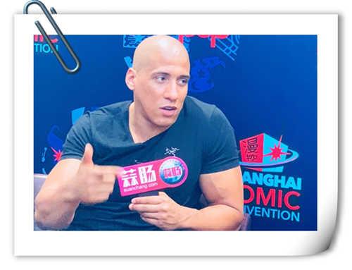 2018 SHCC 倪腾Tony Nicholson专访:健身COS拍片我都要