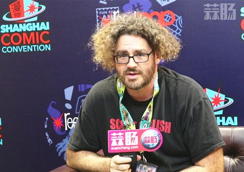 2018 SHCC Scott Koblish专访:要再画死侍 漫展 第1张