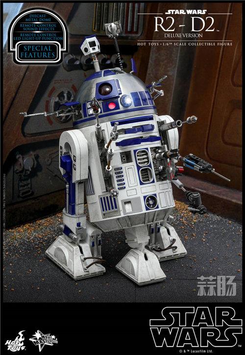 Hot Toys推出《星球大战》豪华版本R2-D2 1:6比例珍藏人偶 模玩 第4张