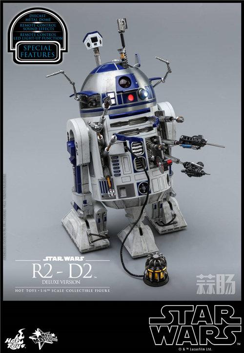 Hot Toys推出《星球大战》豪华版本R2-D2 1:6比例珍藏人偶 模玩 第5张