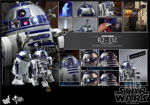 Hot Toys推出《星球大战》豪华版本R2-D2 1:6比例珍藏人偶 模玩 第7张