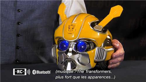 孩之宝公布大黄蜂头盔耳机音效酷炫