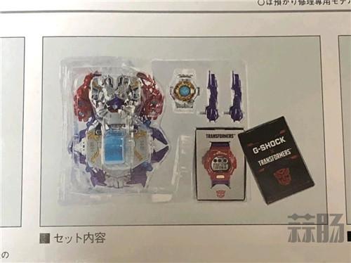 G-Shock联动变形金刚推出可变形主题手表 变形金刚 第4张