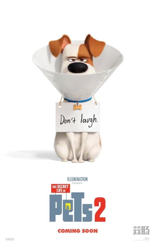 《爱宠大机密2》首张海报公开!Max不开心! 动漫