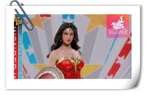 Hot Toys推出《正义联盟》神奇女侠(漫画概念版) 1:6比例珍藏人偶