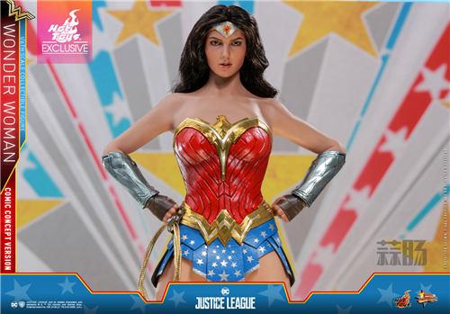 Hot Toys推出《正义联盟》神奇女侠(漫画概念版) 1:6比例珍藏人偶 模玩 第1张