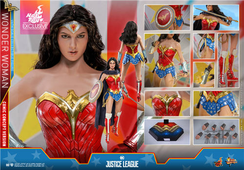 Hot Toys推出《正义联盟》神奇女侠(漫画概念版) 1:6比例珍藏人偶 模玩 第8张
