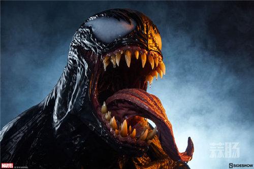 真实!Sideshow发布漫威Life Size Venom Bust 毒液胸像 ! 模玩 第1张