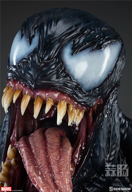 真实!Sideshow发布漫威Life Size Venom Bust 毒液胸像 ! 模玩 第5张