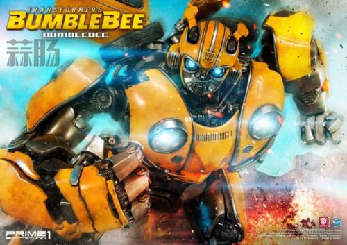 Prime 1 Studios 发布《大黄蜂》电影雕像官图 变形金刚 第1张