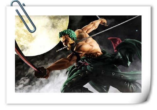 MegaHouse推出了《海贼王》索隆Ver.三千世界 1:8比例手办