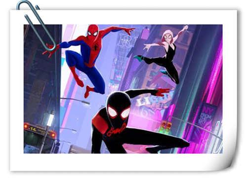 漫威超级英雄动画电影《蜘蛛侠:平行宇宙》国内定档