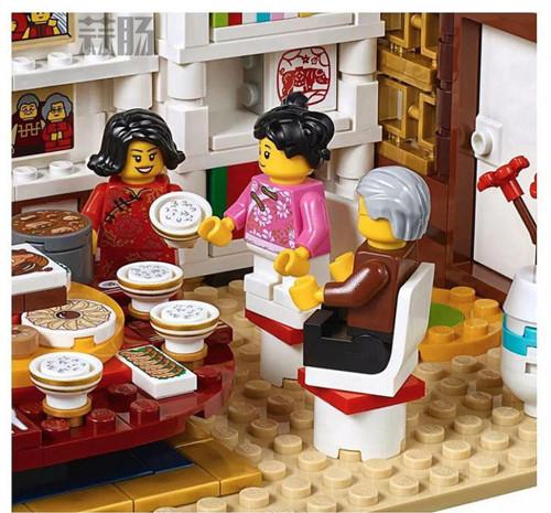 乐高推出中国版主题玩具 中国年夜饭和舞龙? 模玩 第3张
