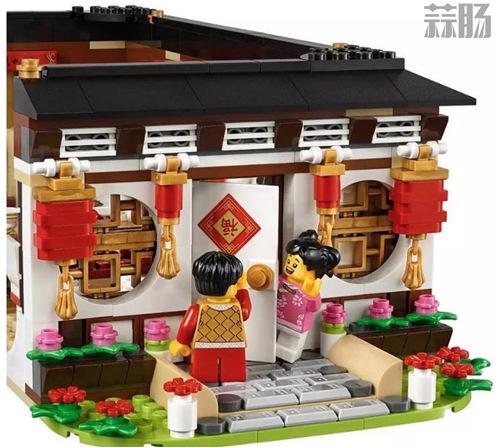 乐高推出中国版主题玩具 中国年夜饭和舞龙? 模玩 第5张