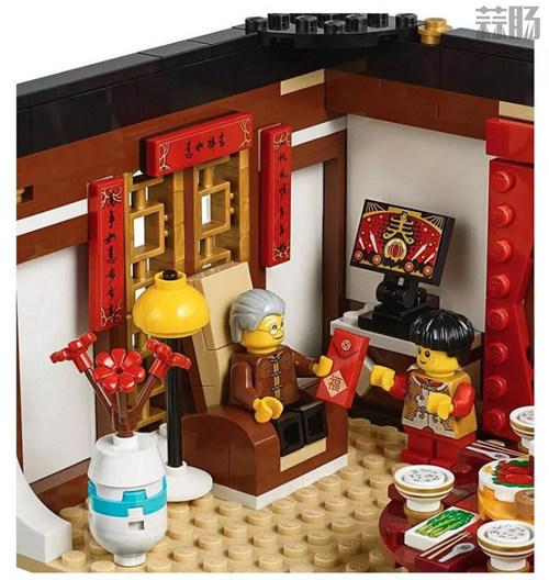 乐高推出中国版主题玩具 中国年夜饭和舞龙? 模玩 第6张