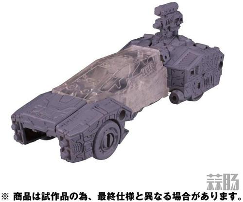 变形金刚围城系列SG-22克劳莉娅 SG-23警车灰模公开 变形金刚 第5张