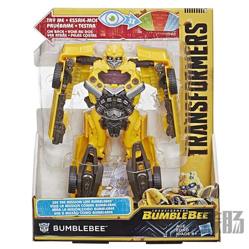 变形金刚Bumblebee Mission Vision大黄蜂与粉碎细节图公布 变形金刚 第2张