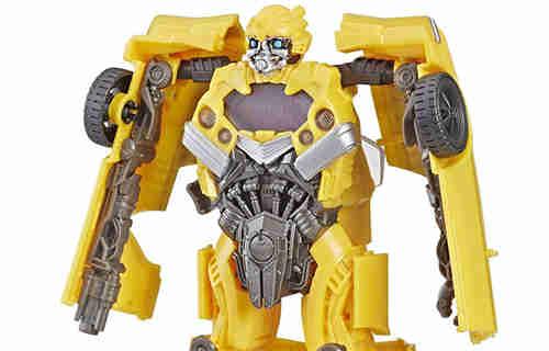 变形金刚Bumblebee Mission Vision大黄蜂与粉碎细节图公布