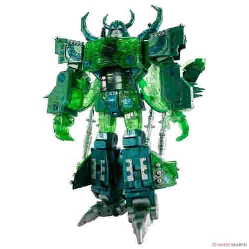 变形金刚Encore系列复刻版绿色透明宇宙大帝公开