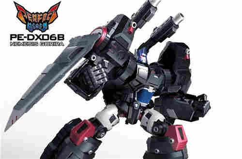 PE宣布明年4月推出野兽战争DX06黑色圣天柱与DX09红龙威震天再版
