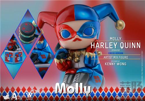Hot Toys与Kennyswork联动推出Molly(伪小丑女)马戏团版 模玩 第3张