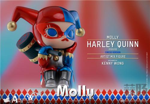 Hot Toys与Kennyswork联动推出Molly(伪小丑女)马戏团版 模玩 第4张