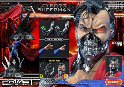 这款超人手办厉害了 普通版也要8000元? DC 机械超人 雕像 超人 模玩  第7张
