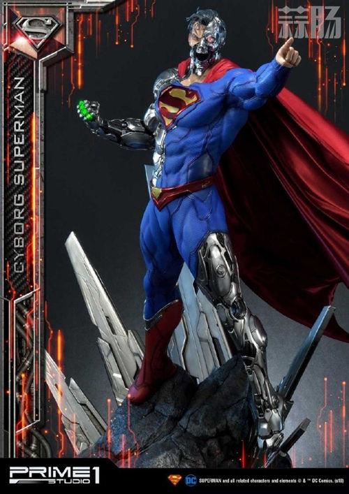 这款超人手办厉害了 普通版也要8000元? DC 机械超人 雕像 超人 模玩  第2张