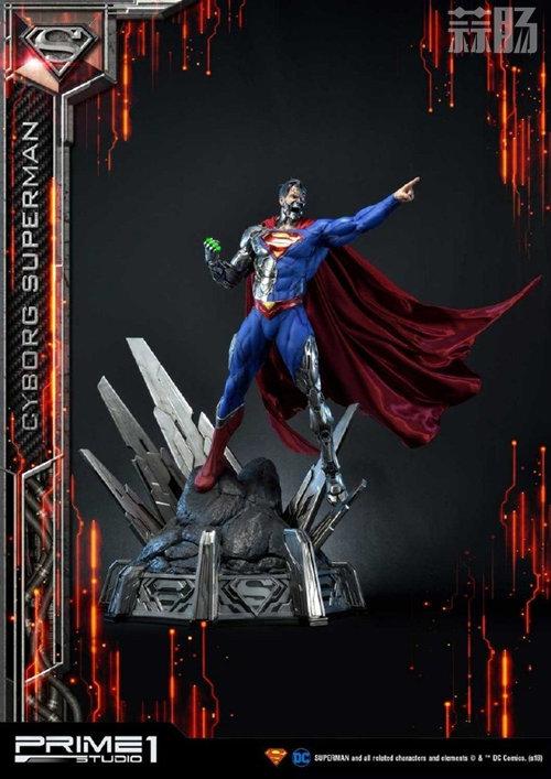 这款超人手办厉害了 普通版也要8000元? DC 机械超人 雕像 超人 模玩  第5张