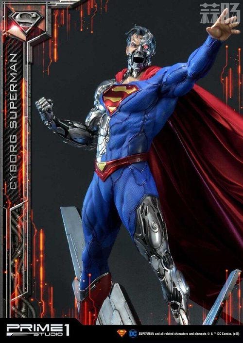 这款超人手办厉害了 普通版也要8000元? DC 机械超人 雕像 超人 模玩  第3张