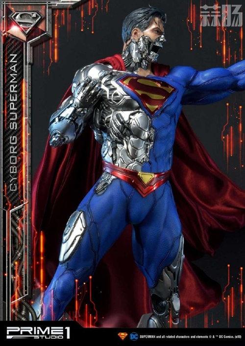 这款超人手办厉害了 普通版也要8000元? DC 机械超人 雕像 超人 模玩  第6张