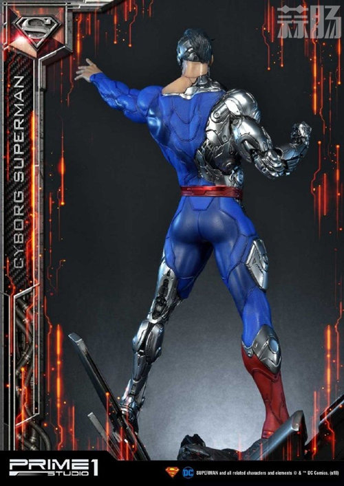 这款超人手办厉害了 普通版也要8000元? DC 机械超人 雕像 超人 模玩  第4张