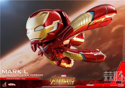 Hot Toys推出钢铁侠 MARK L (超级飞行器版) COSBABY 珍藏人偶 模玩 第3张