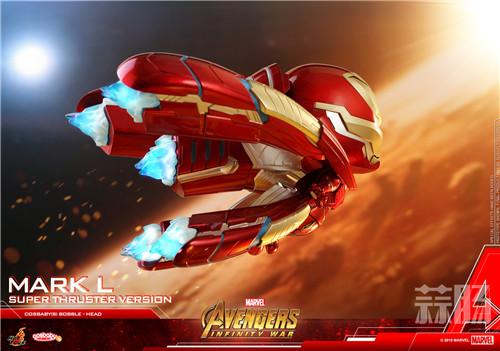 Hot Toys推出钢铁侠 MARK L (超级飞行器版) COSBABY 珍藏人偶 模玩 第2张