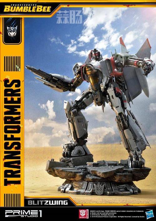 Prime 1 Studio 公布电影《大黄蜂》闪电雕像官图 变形金刚 第2张