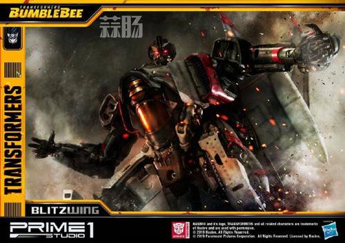 Prime 1 Studio 公布电影《大黄蜂》闪电雕像官图 变形金刚 第1张