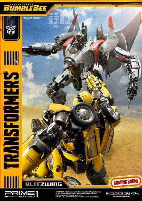 Prime 1 Studio 公布电影《大黄蜂》闪电雕像官图 变形金刚 第8张