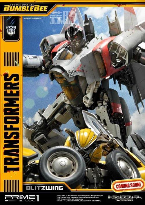 Prime 1 Studio 公布电影《大黄蜂》闪电雕像官图 变形金刚 第7张