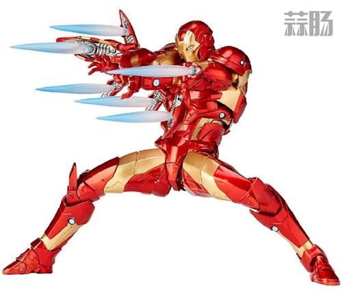 海洋堂漫画版钢铁侠 MK37 官图公布 模玩 第1张