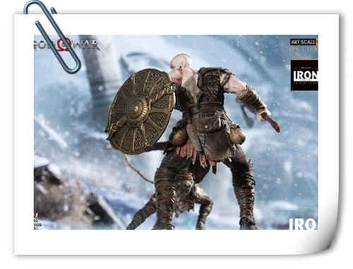 Iron Studios 发布《战神》奎托斯和阿特柔斯雕像官图
